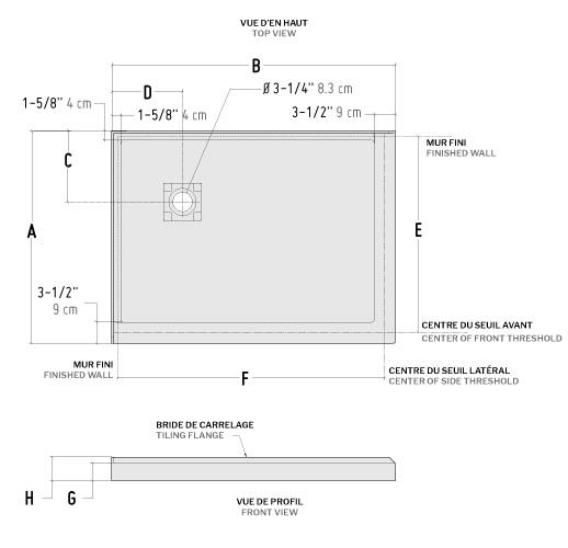 adtc 2 sided bases wallsshower base1