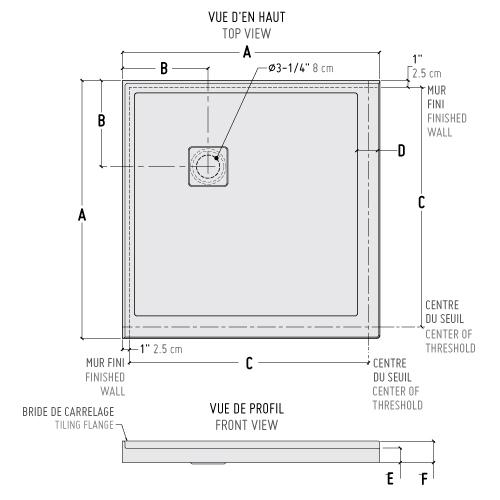 alc square corner bases wallsshower base1