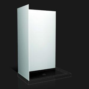 "ASDT4836 – Acrylic Wall Panel Kit for 48"" DT Shower Bases"