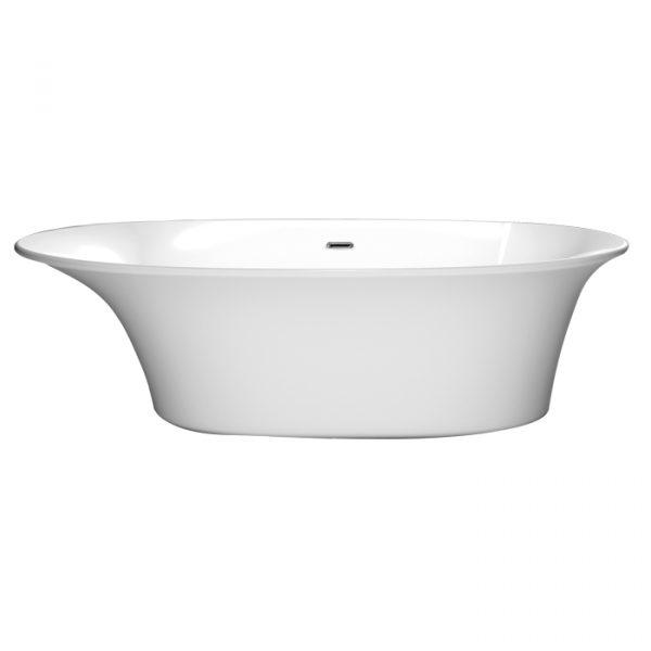 aura free standing bathtub