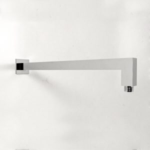 BRASS SHOWER ARM WITH PLATE (128.730.100)