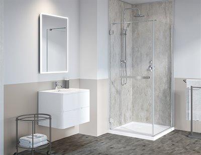 fibo by fleurco corner, bases & walls,shower base