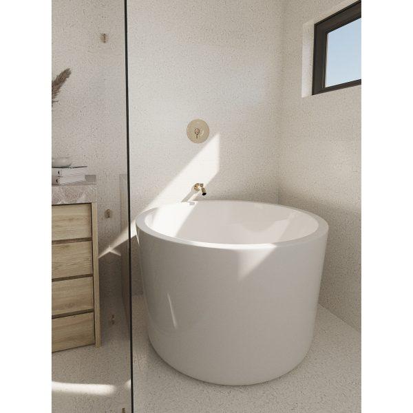 opes free standing bathtub