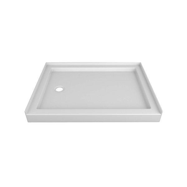 offset drain shower base (sbstod)