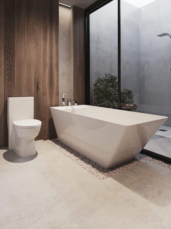 justinian free standing bathtub