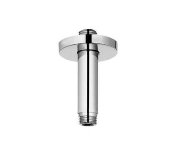 "3"" round ceiling arm with round flange (va0003cr-ch)"