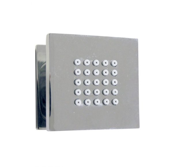 square wall mount shower body jet (118.721.100)